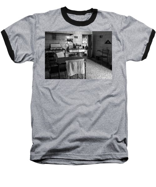 Baseball T-Shirt featuring the photograph Josie's Kitchen Havana Cuba by Joan Carroll