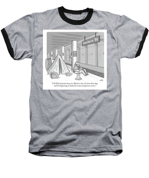 Journal Entry Six Morale Is Low Baseball T-Shirt