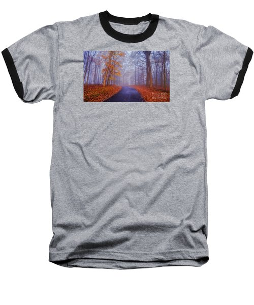 Journey Continues Baseball T-Shirt by Rima Biswas