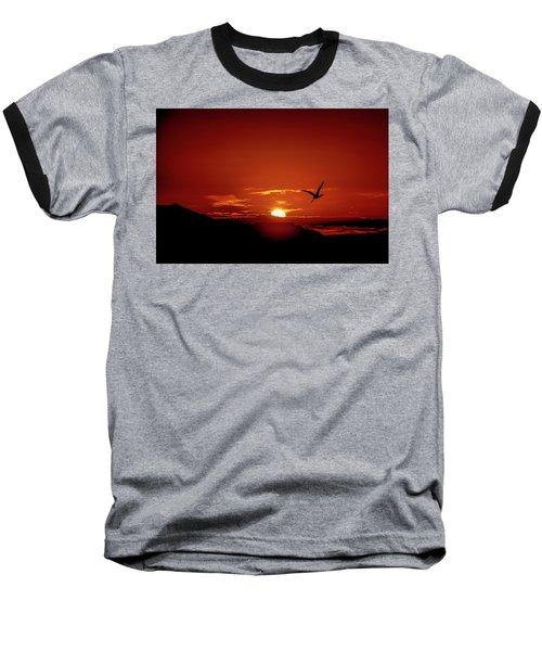 Journey Home Baseball T-Shirt by Mark Dunton