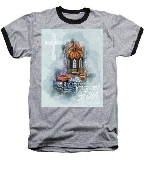 Journey Of Faith Baseball T-Shirt