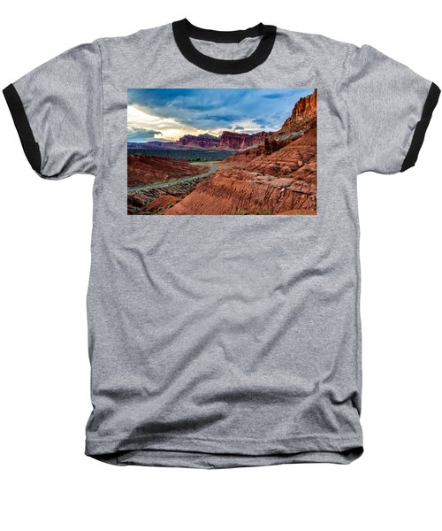 Journey Through Capitol Reef Baseball T-Shirt