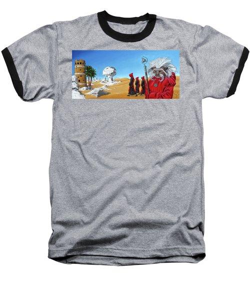 Journey To The White Desert Baseball T-Shirt