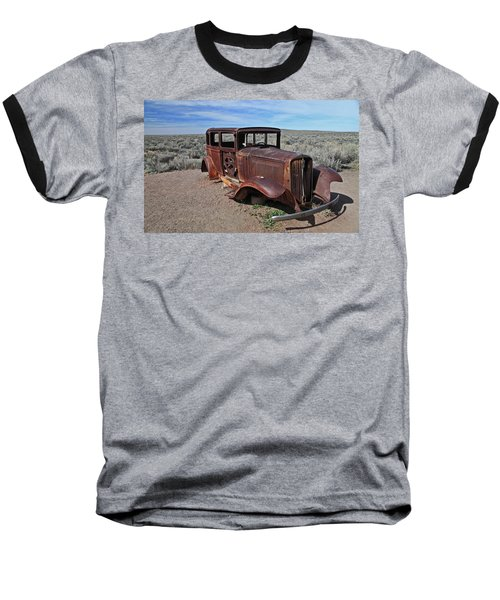 Baseball T-Shirt featuring the photograph Journey's End by Gary Kaylor