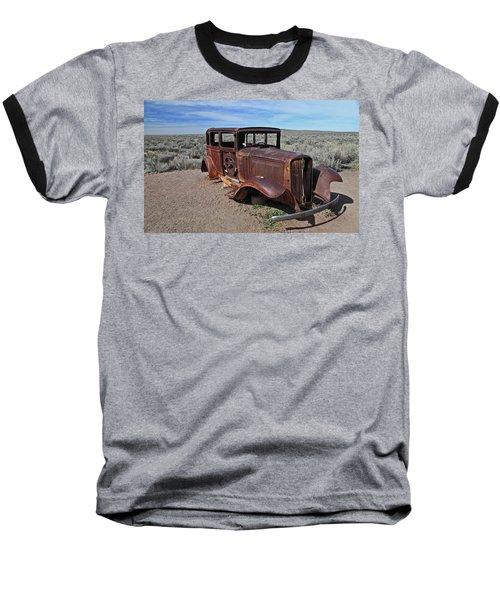Journey's End Baseball T-Shirt by Gary Kaylor