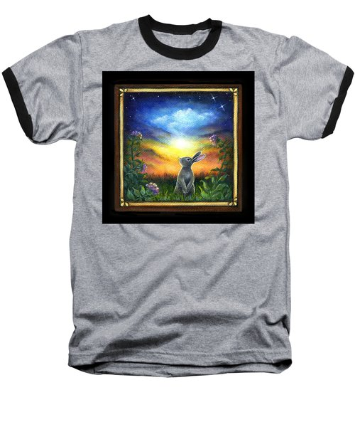 Joy Comes In The Morning Baseball T-Shirt