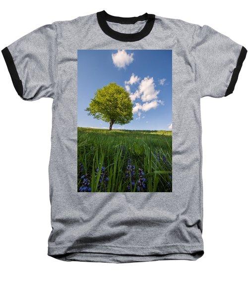 Baseball T-Shirt featuring the photograph Joy by Davorin Mance