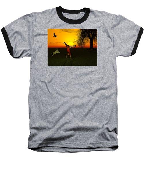 Joy Baseball T-Shirt by Michele Wilson