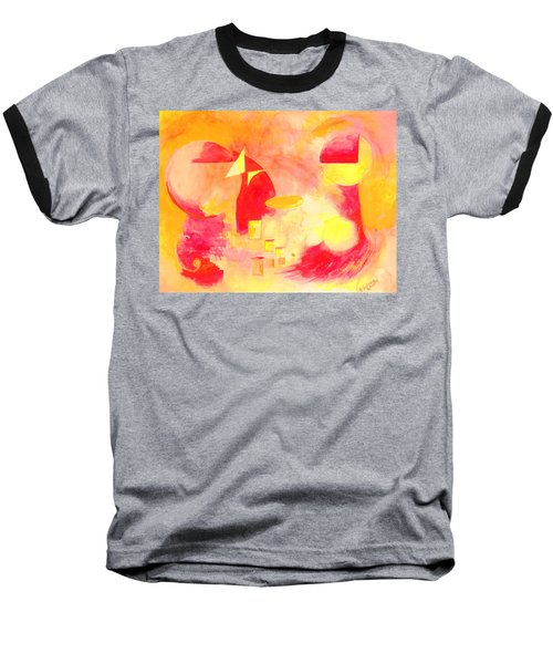 Joyful Abstract Baseball T-Shirt