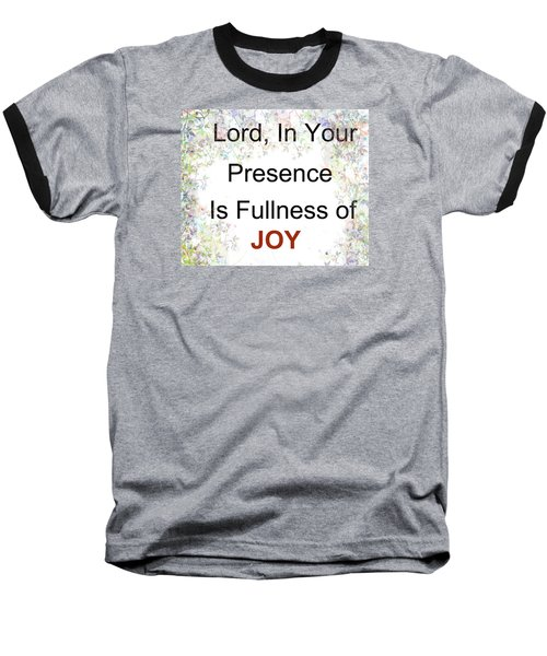 Joys Of Life Baseball T-Shirt