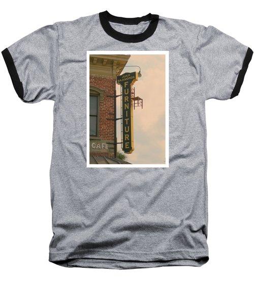 Juan's Furniture Store Baseball T-Shirt by Robert Youmans
