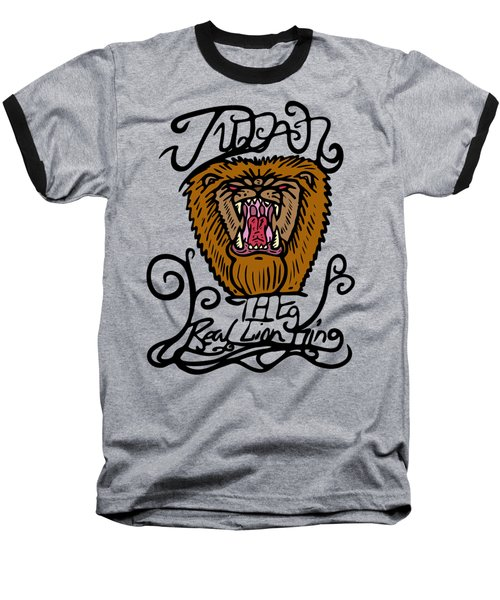 Judah The Real Lion King Baseball T-Shirt