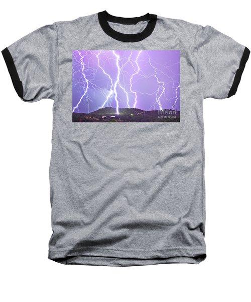 Judgement Day Lightning Baseball T-Shirt