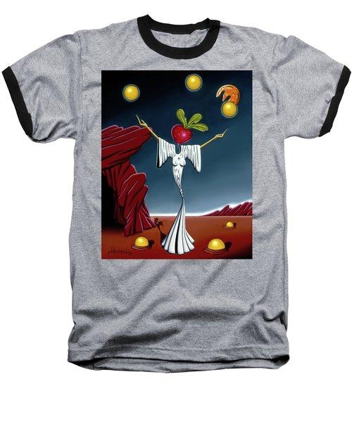 Juggling Act Baseball T-Shirt
