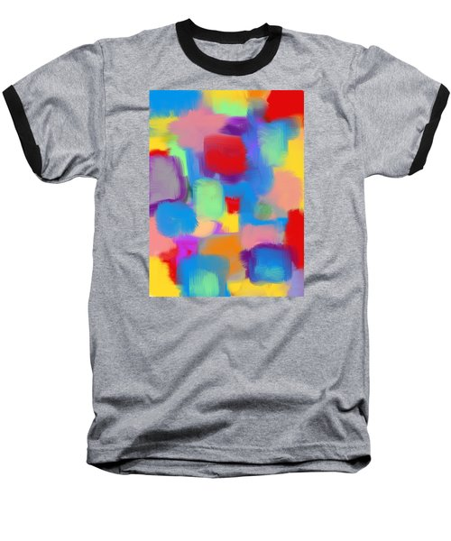 Juicy Shapes And Colors Baseball T-Shirt