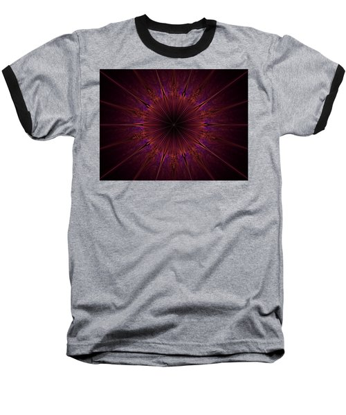 The Violet Blessings Of The Crown Chakra Baseball T-Shirt