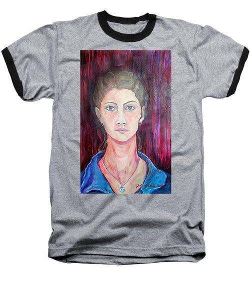 Julie Self Portrait Baseball T-Shirt