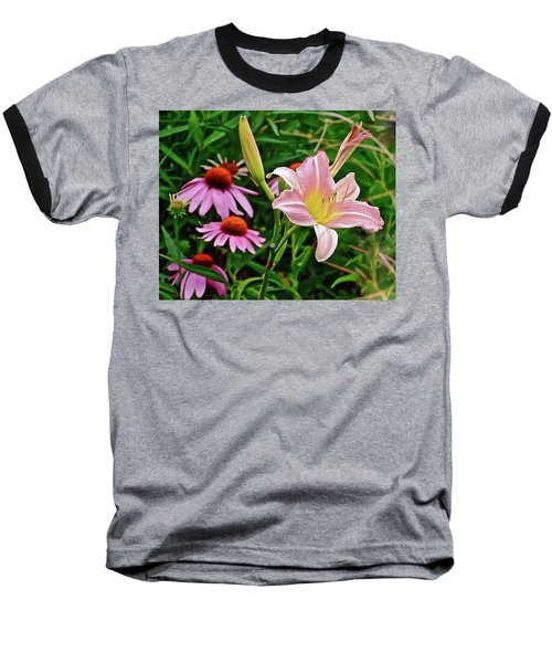 July Lily #10 Baseball T-Shirt