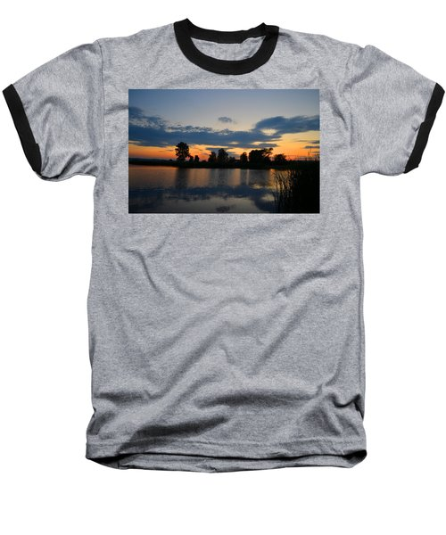 July Sunset Baseball T-Shirt