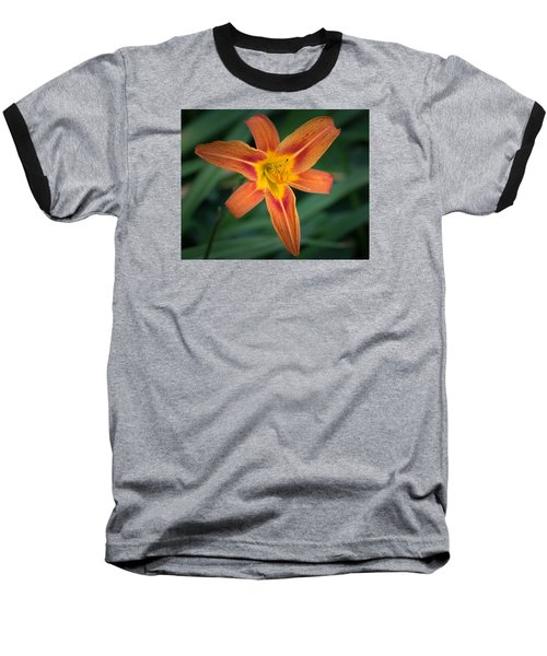 July Tiger Lily Baseball T-Shirt