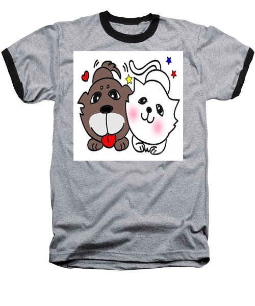 Jummy And Bobby Baseball T-Shirt