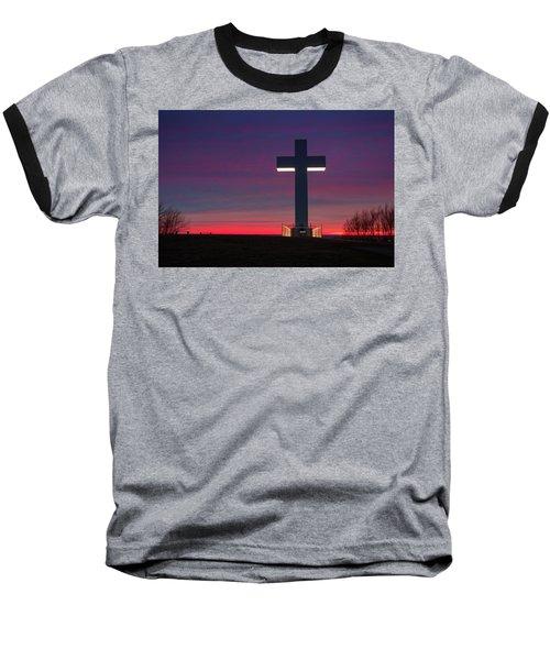 Jumonville Cross  Baseball T-Shirt