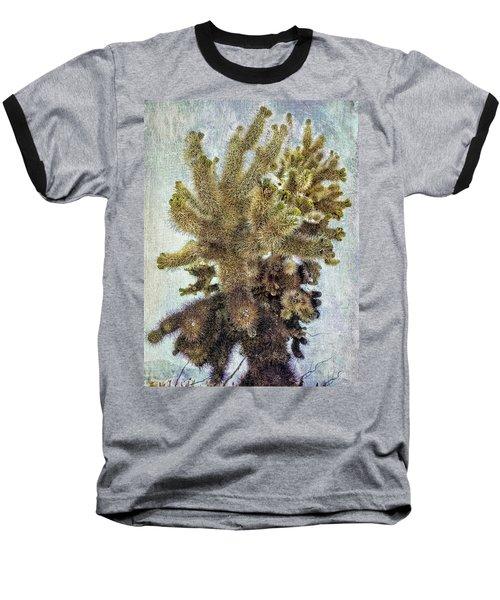 Jumping Cholla Baseball T-Shirt