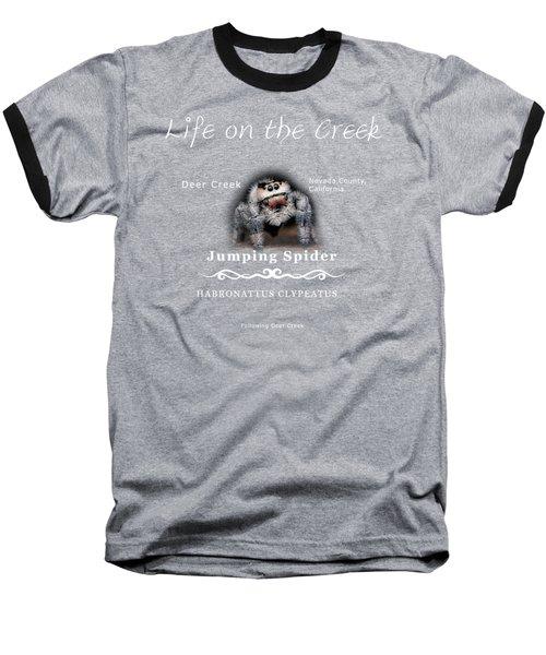 Jumping Spider Baseball T-Shirt