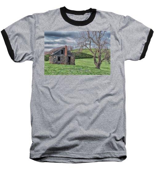 Junaluska Road Christmas Tree Farm Baseball T-Shirt