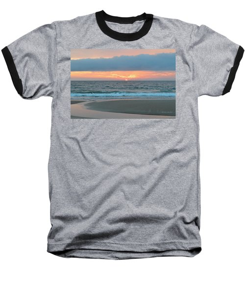 June 20 Nags Head Sunrise Baseball T-Shirt