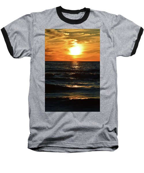 June 21 - 2017 Sunset At Wasaga Beach  Baseball T-Shirt