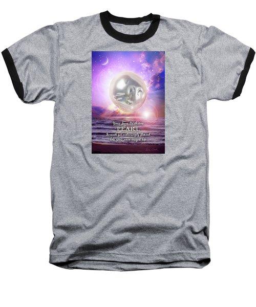 June Birthstone Pearl Baseball T-Shirt