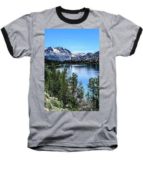 June Lake Portrait Baseball T-Shirt
