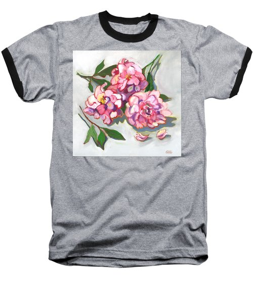 June Peonies Baseball T-Shirt