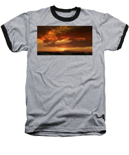June Sunset Baseball T-Shirt