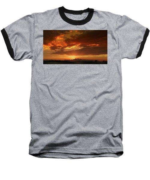June Sunset Baseball T-Shirt