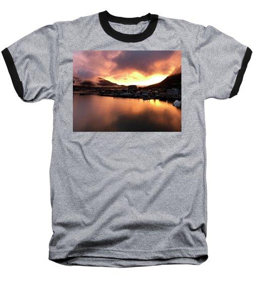 Juneau Sunset Baseball T-Shirt