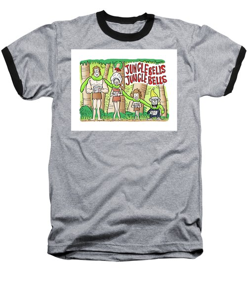 Jungle Bells Baseball T-Shirt