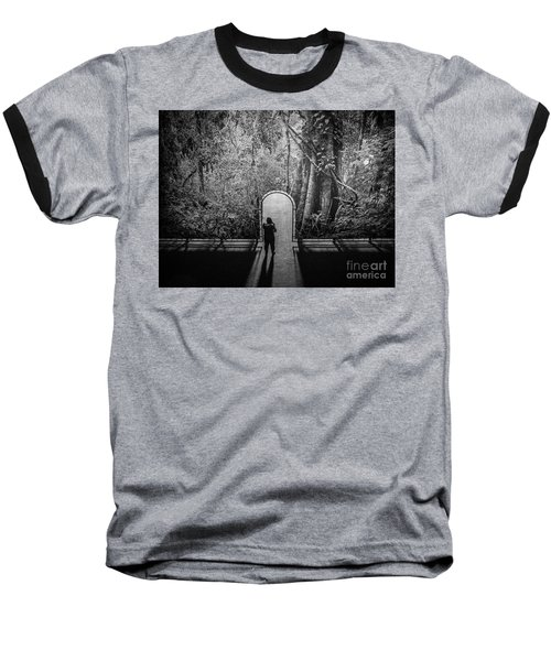 Jungle Entrance Baseball T-Shirt