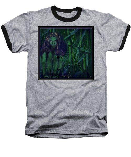 Jungle Fairy Baseball T-Shirt