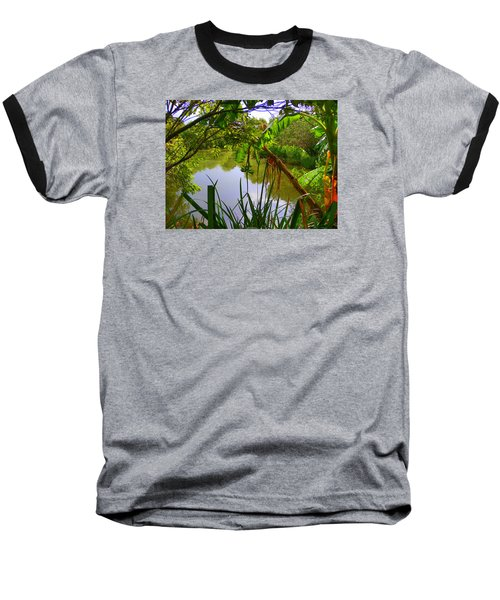 Jungle Garden View Baseball T-Shirt