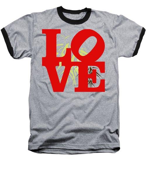 Jungle Love Tee Baseball T-Shirt by Paulette B Wright