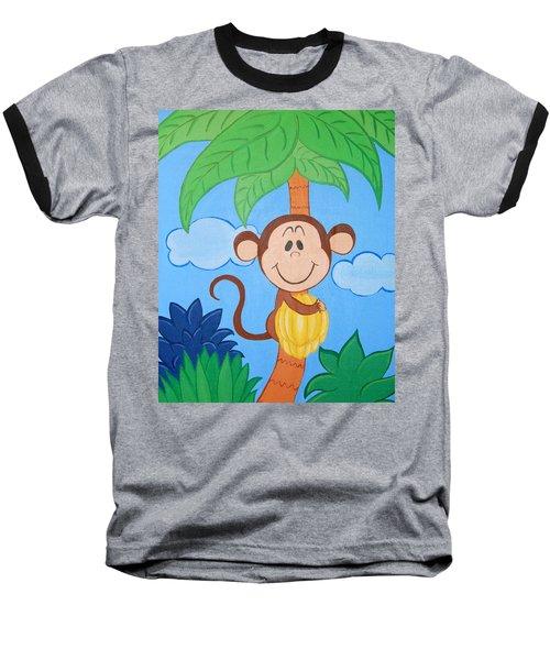 Jungle Monkey Baseball T-Shirt