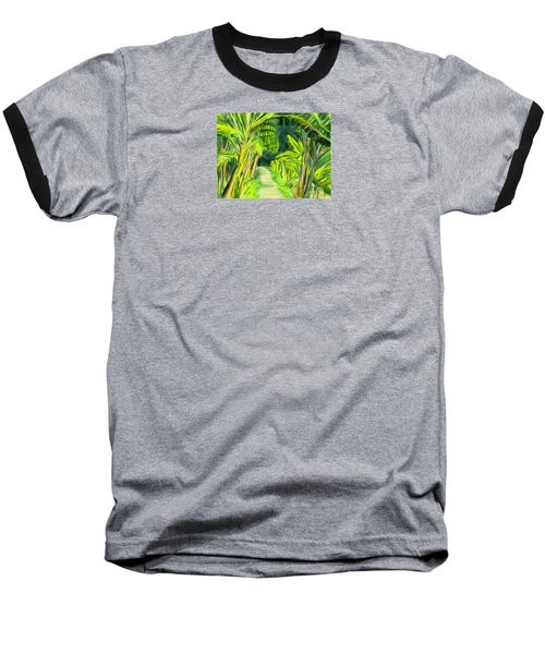 Jungle Path Baseball T-Shirt