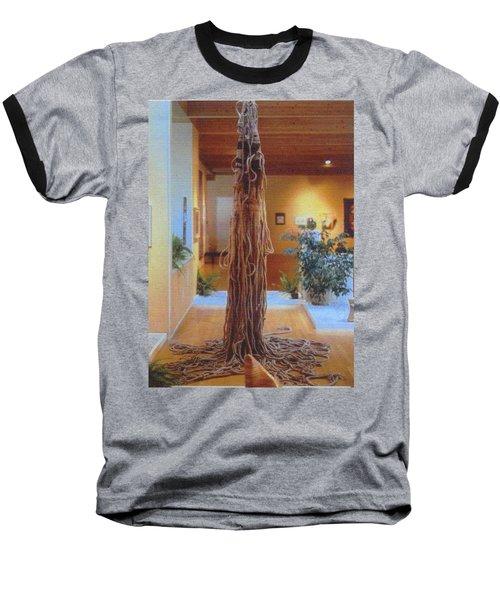 Jungle Spirit Baseball T-Shirt by Bernard Goodman