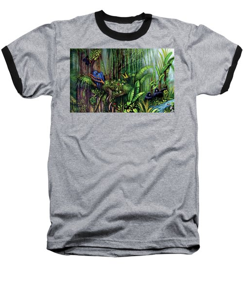 Jungle Talk Baseball T-Shirt