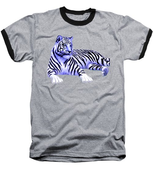 Jungle Tiger Baseball T-Shirt