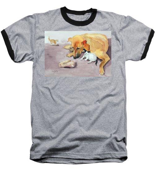 Junior And Amira Baseball T-Shirt