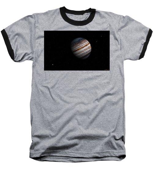 Jupiter And It 4 Major Moons Baseball T-Shirt