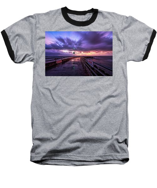 Jupiter Inlet Jetty Baseball T-Shirt